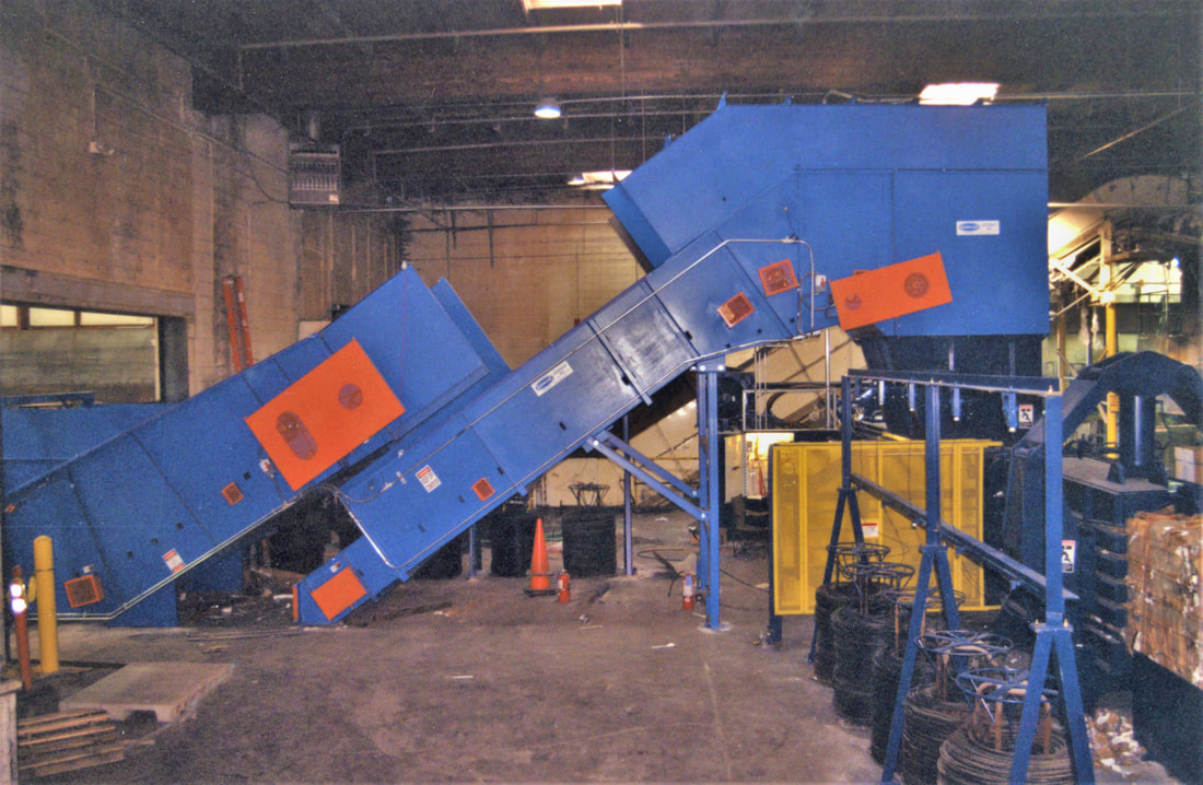 Baler Feed Conveyors - Remcon Equipment, Inc  - Remcon Equipment, Inc